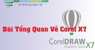 học corel x7 online