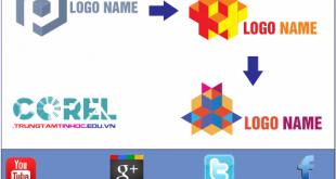 vẽ logo bằng Corel