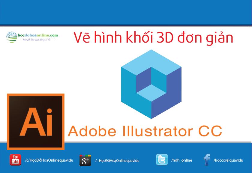 vẽ hình khối 3D trong AI