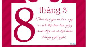 thiệp 8-3 bằng corel