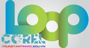 vẽ logo loop trong corel