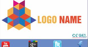 logo polygon cách điệu