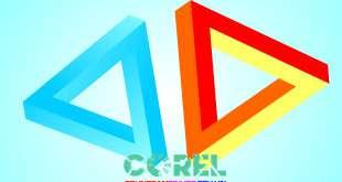 logo tam giác 3D