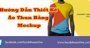 thiet ke ao thun bang mockup
