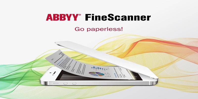 Ứng dụng FineScanner dành cho iOS.