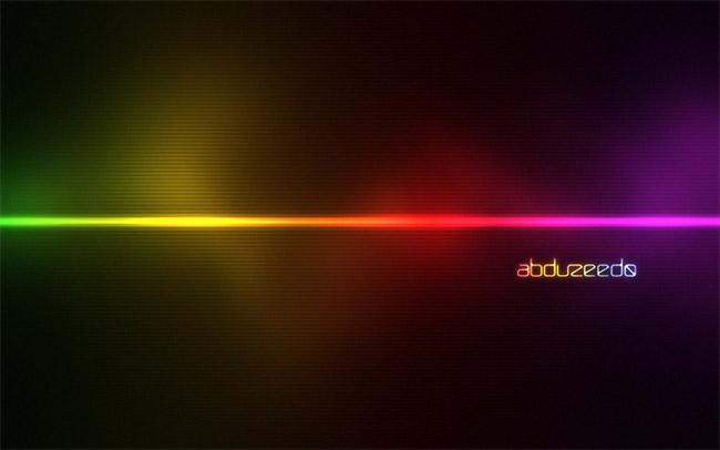 Hiệu ứng ánh sáng đầy màu sắc trong Photoshop