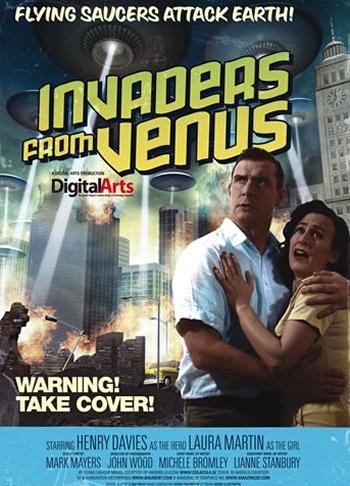 B Movie Poster Art