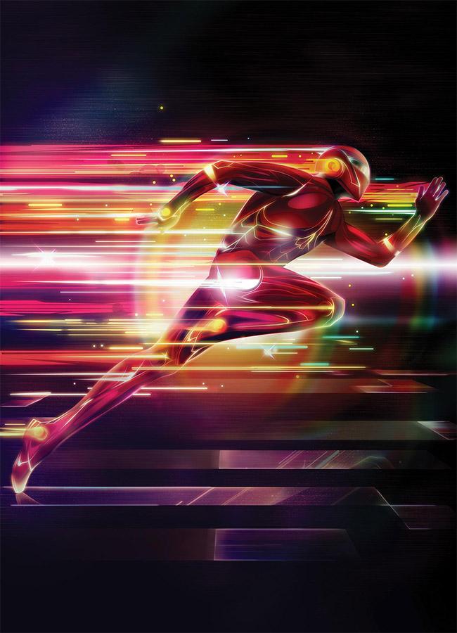 Cách tạo siêu anh hùng trong Photoshop