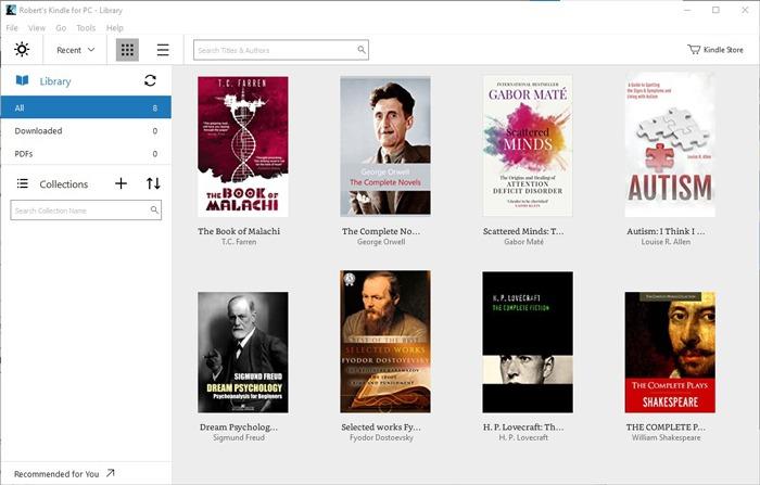 Trình đọc sách điện tử tốt nhất Windows 10 Kindle cho Pc