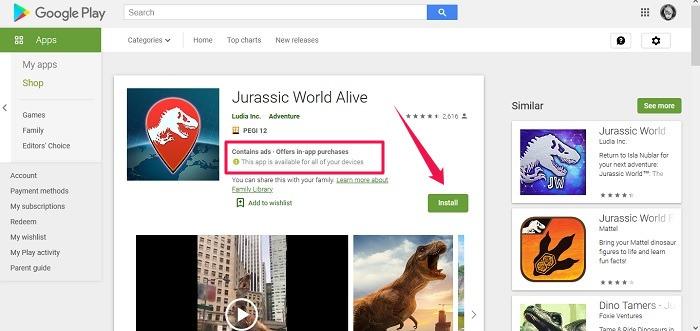 Cài đặt ứng dụng từ xa Kiểm tra tính khả dụng của Android