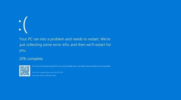 Cách cập nhật Windows 10 1903 phá vỡ Chromium Bsod