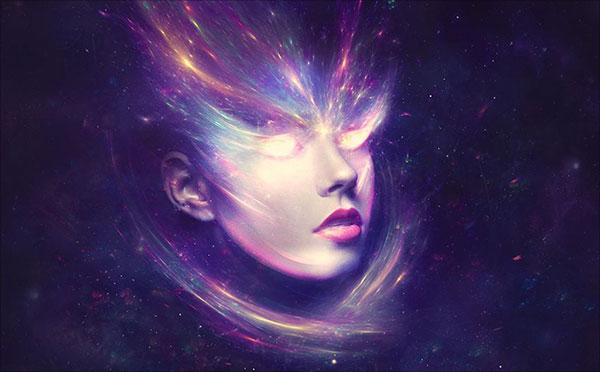 Ảo tưởng, -Sci-Fi-Chân dung-Ảnh-Thao tác-trong-Adobe-Photoshop