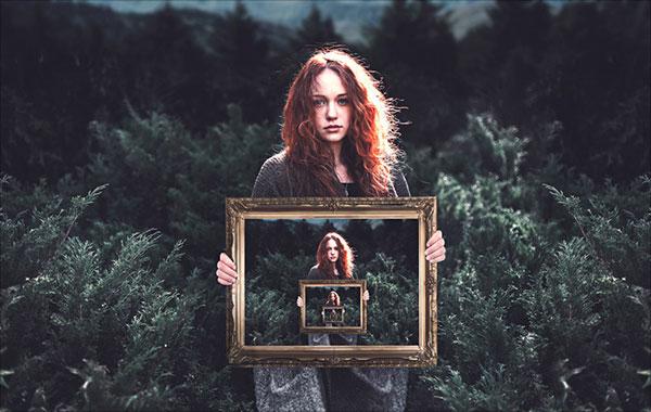 Vô tận-Hình-Trong-Một-Hình-Ảo-Trong-Adobe-Photoshop