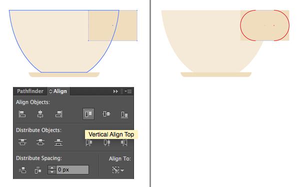 1624871754 275 Thiet ke Bieu trung Teacup phang trong Adobe Illustrator