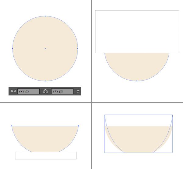 1624871754 298 Thiet ke Bieu trung Teacup phang trong Adobe Illustrator