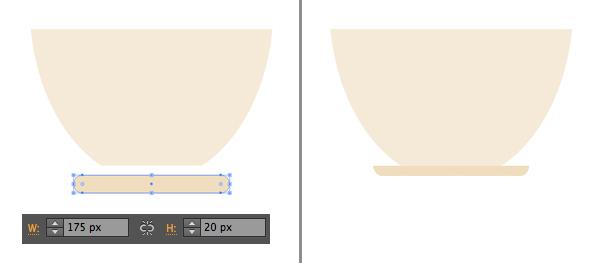 1624871754 733 Thiet ke Bieu trung Teacup phang trong Adobe Illustrator