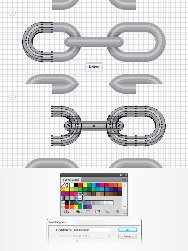 Cách tạo một Brush hoa văn trong Adobe Illustrator 13