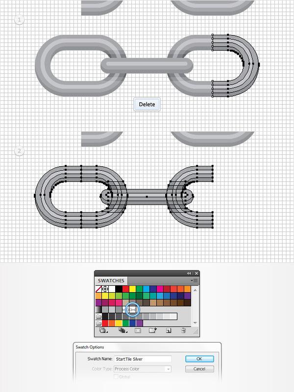 Cách tạo một Brush hoa văn trong Adobe Illustrator 14