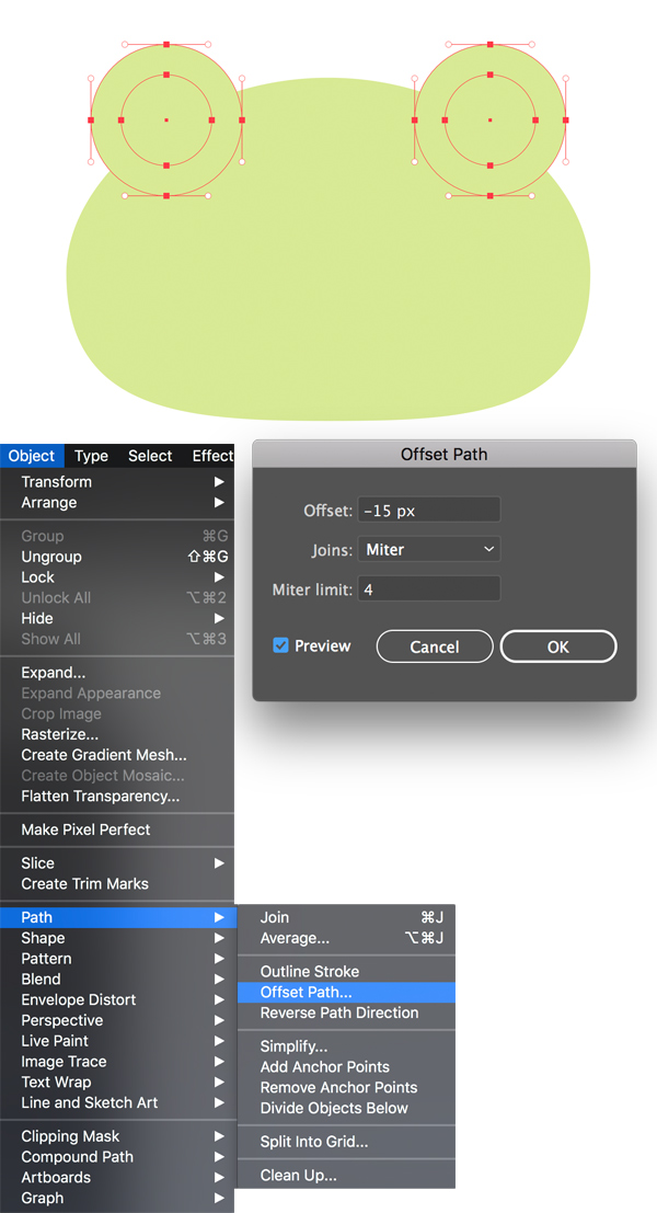 1625974620 839 Cach ve Vec to ech de thuong trong Adobe Illustrator