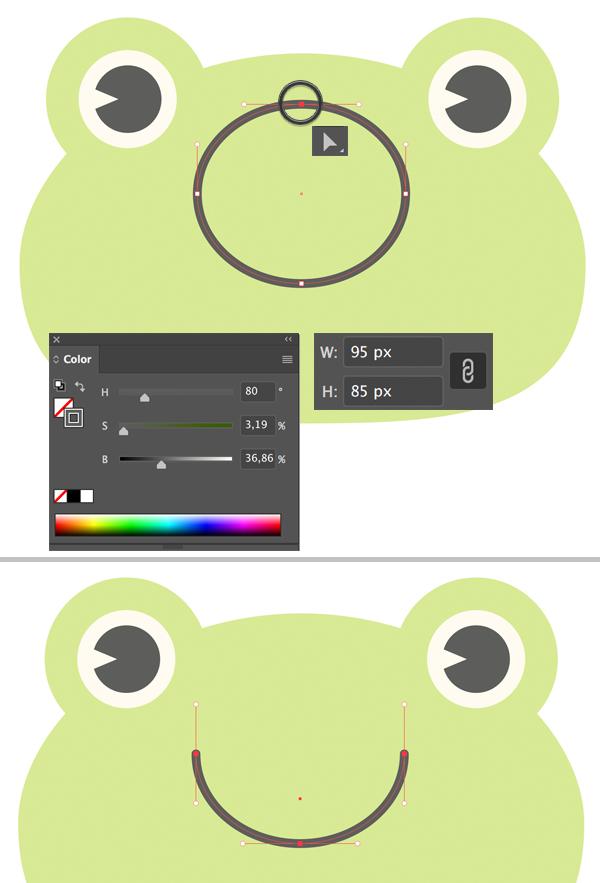 1625974621 744 Cach ve Vec to ech de thuong trong Adobe Illustrator