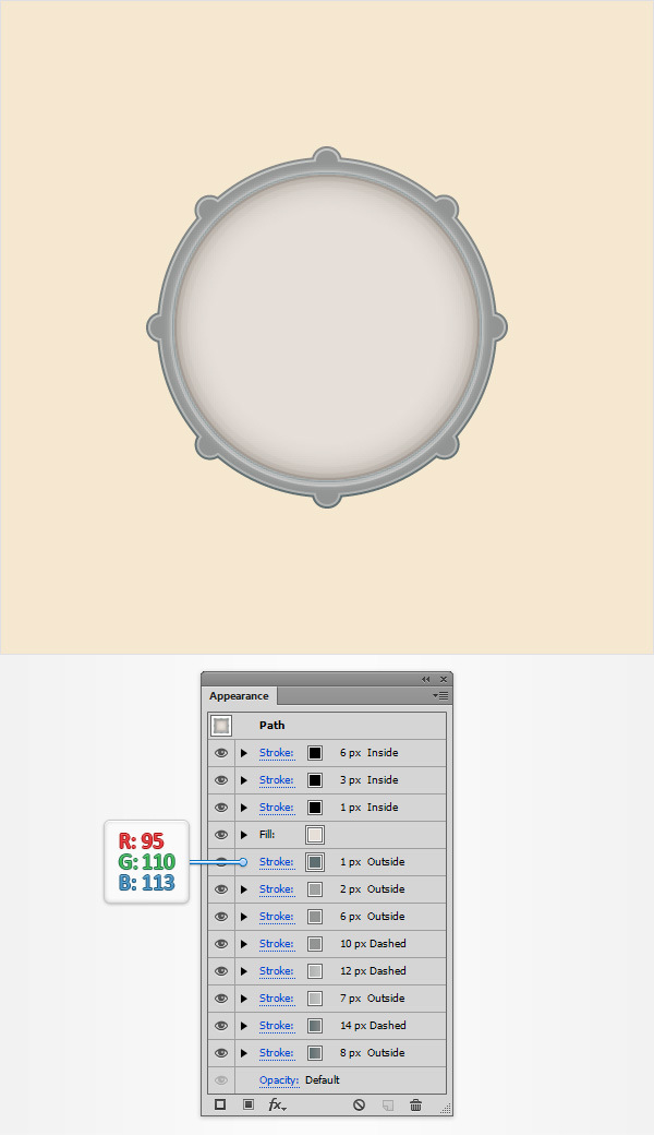 How to Create a Simple Drum Icon 15