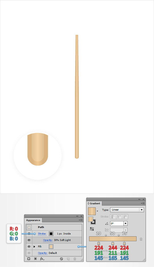 How to Create a Simple Drum Icon 20