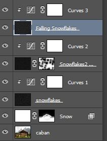 Tìm hiểu cách thêm tuyết vào ảnh trong Photoshop 21
