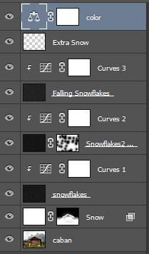 Tìm hiểu cách thêm tuyết vào ảnh trong Photoshop 25