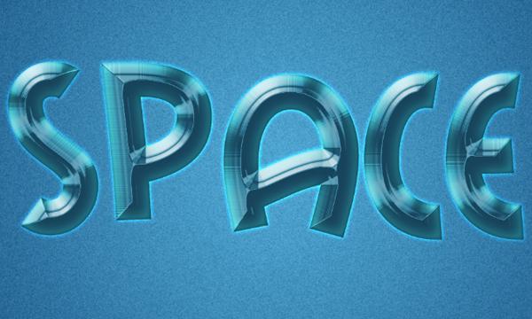 Cách tạo hiệu ứng văn bản kiểu không gian trong Photoshop 11
