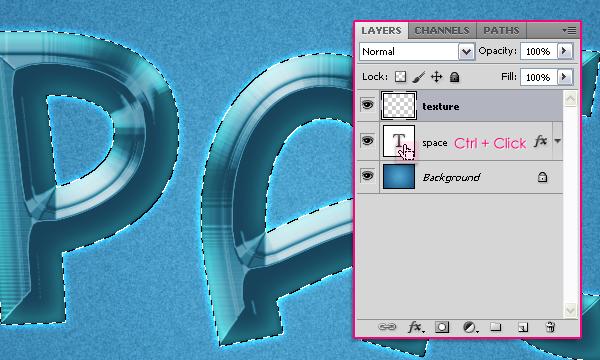 Cách tạo hiệu ứng văn bản kiểu không gian trong Photoshop 12