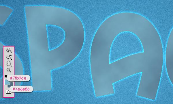 Cách tạo hiệu ứng văn bản kiểu không gian trong Photoshop 13