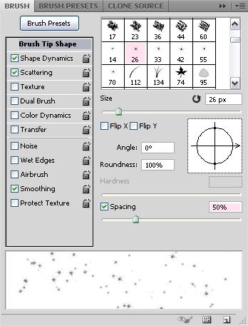 Cách tạo hiệu ứng văn bản kiểu không gian trong Photoshop 17