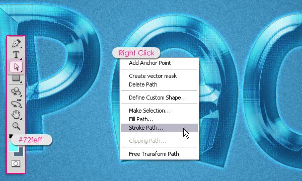 Cách tạo hiệu ứng văn bản kiểu không gian trong Photoshop 21