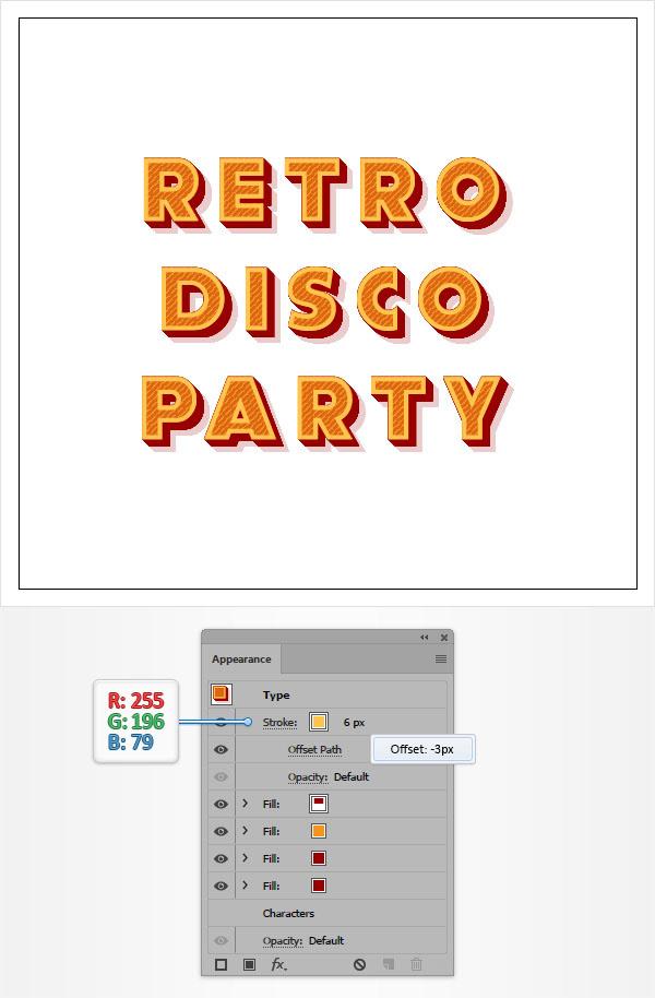Cách tạo hiệu ứng văn bản cổ điển trong Adobe Illustrator 10