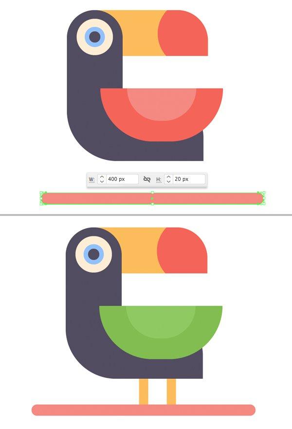 cách vẽ minh họa cho vector chim cảm ứng cách minh họa logo chim nhiệt đới