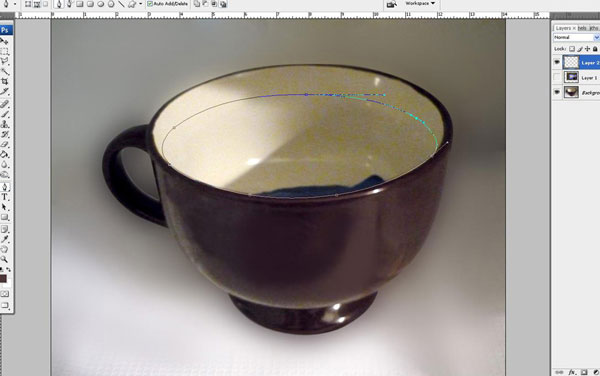 Tạo một bông hoa súng trong một hiệu ứng cốc trong Photoshop 11