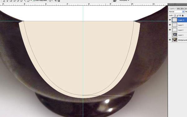 Tạo một bông hoa súng trong một hiệu ứng cốc trong Photoshop 16