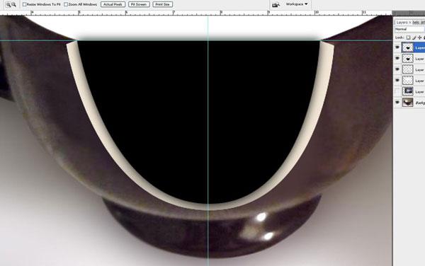 Tạo một bông hoa súng trong một hiệu ứng cốc trong Photoshop 20