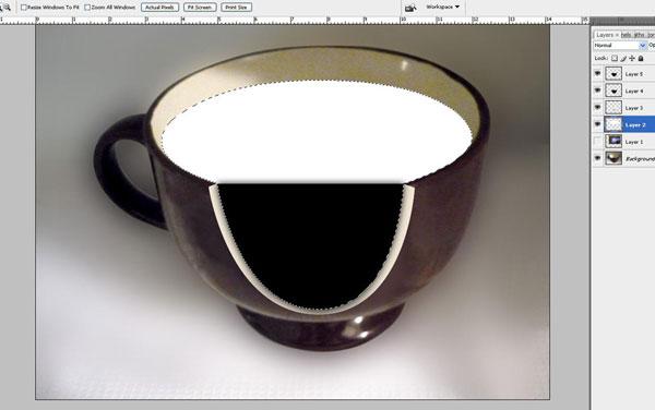 Tạo một hiệu ứng hoa súng trong một chiếc cốc trong Photoshop 22