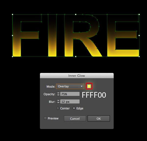 Cách tạo hiệu ứng chữ lửa trong 10 phút trong Illustrator 4