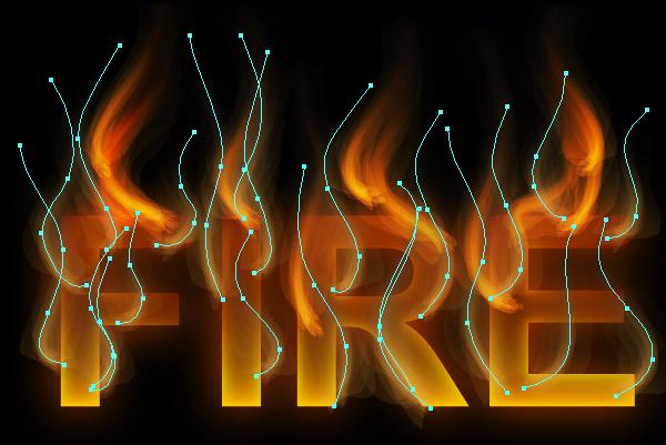 Cách tạo hiệu ứng chữ lửa trong 10 phút trong Illustrator 15