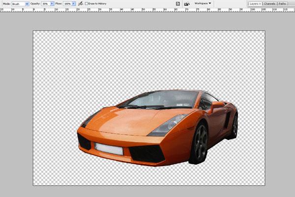Cách tạo hiệu ứng chuyển động nhanh trong Photoshop 2