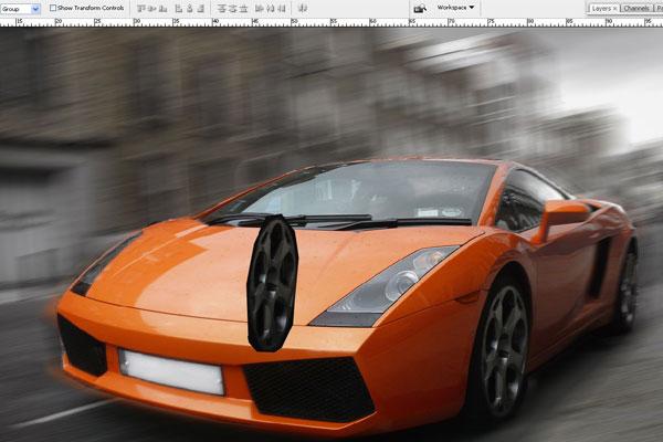 Cách tạo hiệu ứng chuyển động nhanh trong Photoshop 9