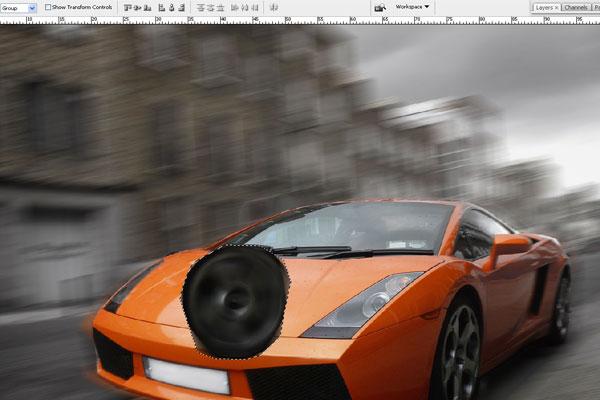 Cách tạo hiệu ứng chuyển động nhanh trong Photoshop 13