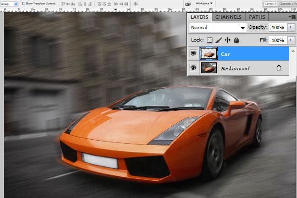 Cách tạo hiệu ứng chuyển động nhanh trong Photoshop 16