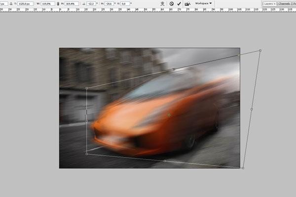 Cách tạo hiệu ứng chuyển động nhanh trong Photoshop 3