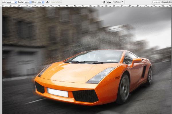 Cách tạo hiệu ứng chuyển động nhanh trong Photoshop 11