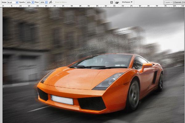 Cách tạo hiệu ứng chuyển động nhanh trong Photoshop 12