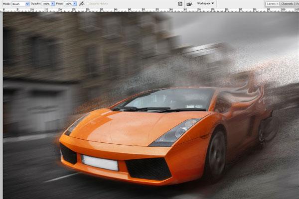 Cách tạo hiệu ứng chuyển động nhanh trong Photoshop 14
