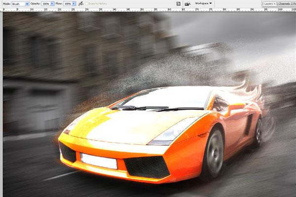 Cách tạo hiệu ứng chuyển động nhanh trong Photoshop 15
